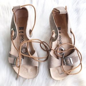 Birkenstock Papillio   NWOT Emmy Lace Up Sandals